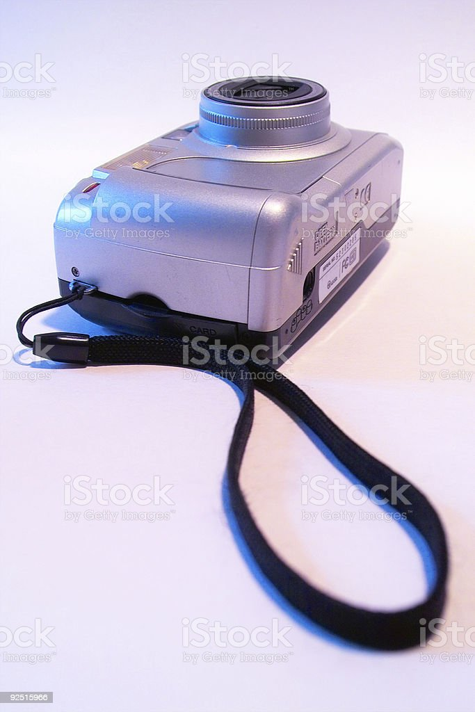 digital camera (lying) royalty-free stock photo