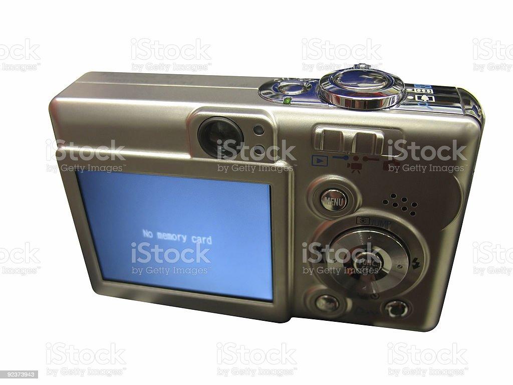 Digital Camera-2 Clipping Paths royalty-free stock photo