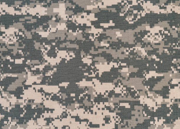 Digital camo background Digital camo fabric background camouflage stock pictures, royalty-free photos & images