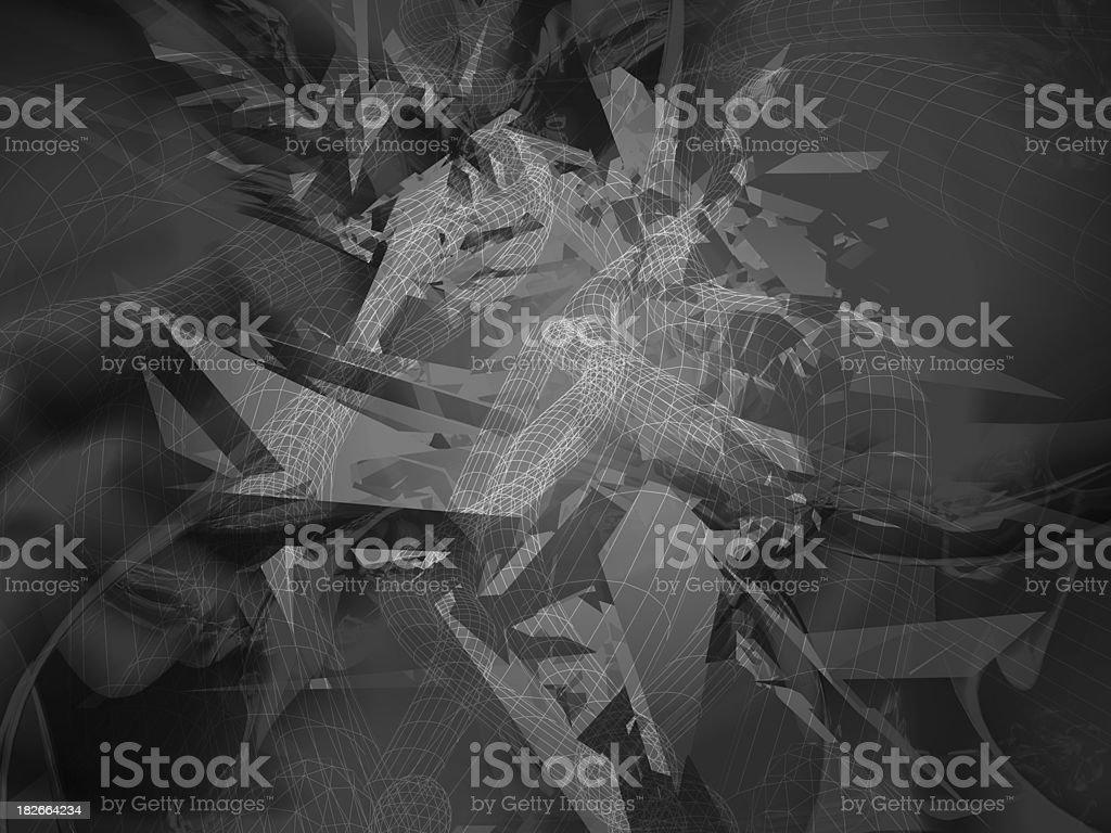 Digital Camoflauge royalty-free stock photo