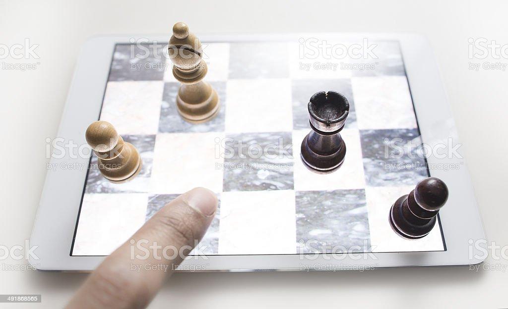 digital challenge stock photo