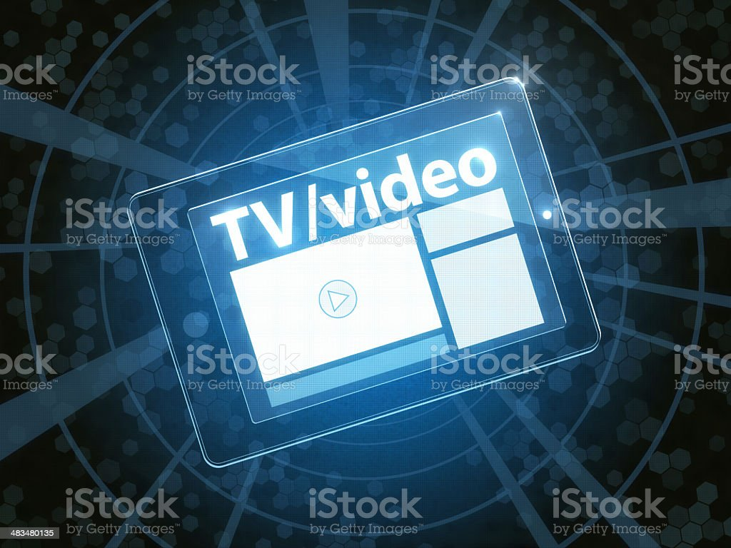 Digital Channel royalty-free stock photo