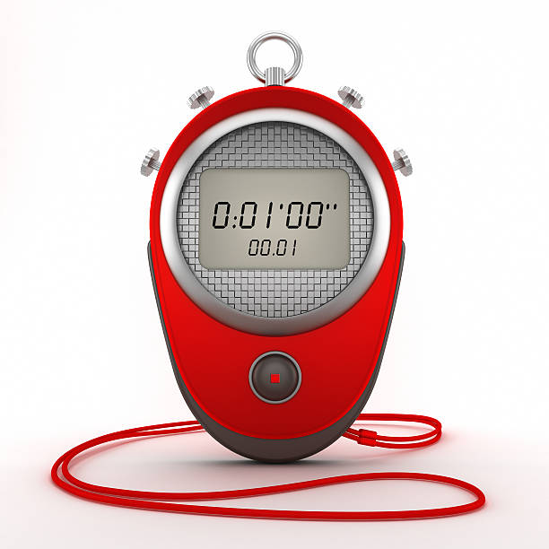 digital chronometer - stopwatch stockfoto's en -beelden