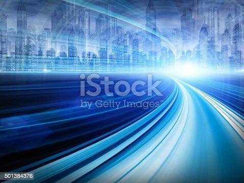 istock Digital City 501384376