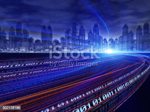istock Digital City 502128196