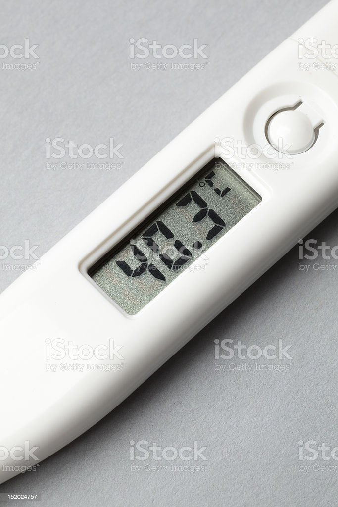 Digital Clinical Thermometer royalty-free stock photo