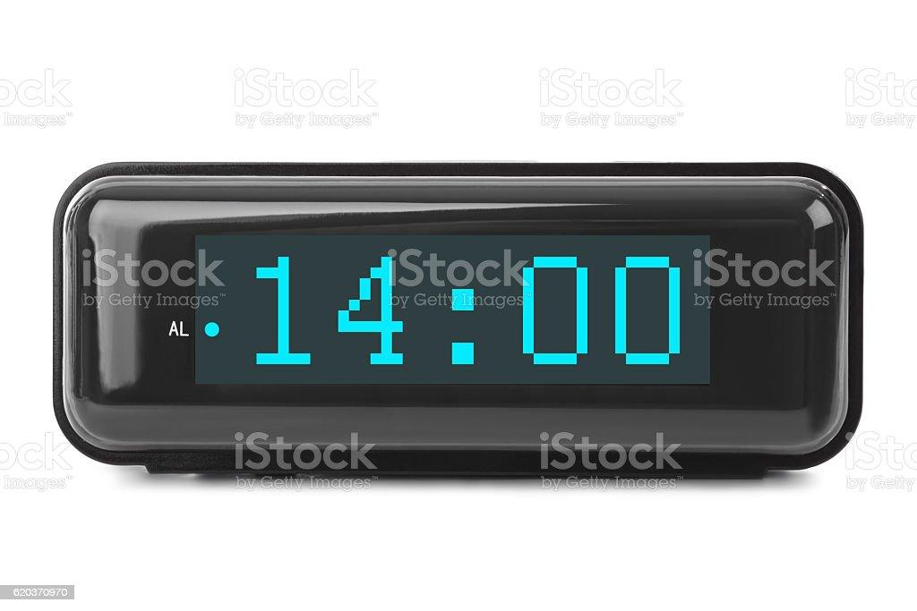 Zegar cyfrowy zbiór zdjęć royalty-free