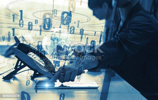 istock Digital communication concept. 926550378