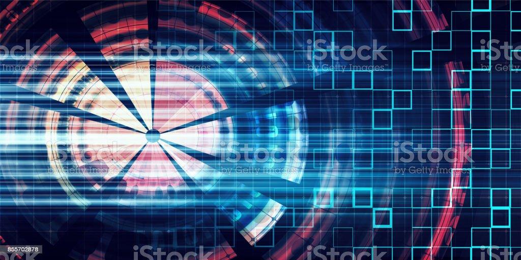 Digital Communication stock photo