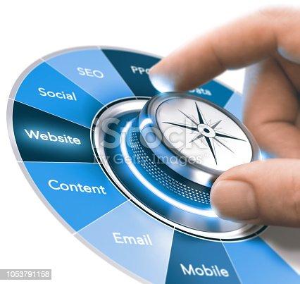 istock Digital Communication Strategies Training, Marketing 360 degree 1053791158