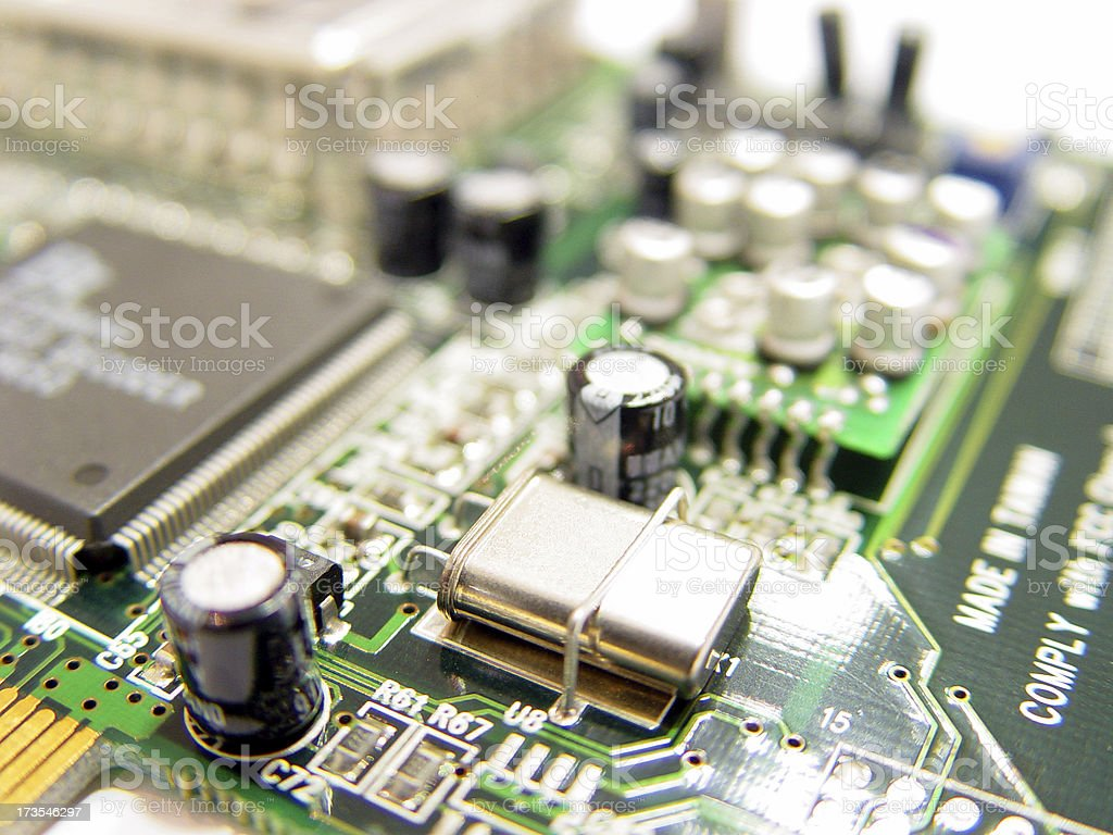 digital components royalty-free stock photo