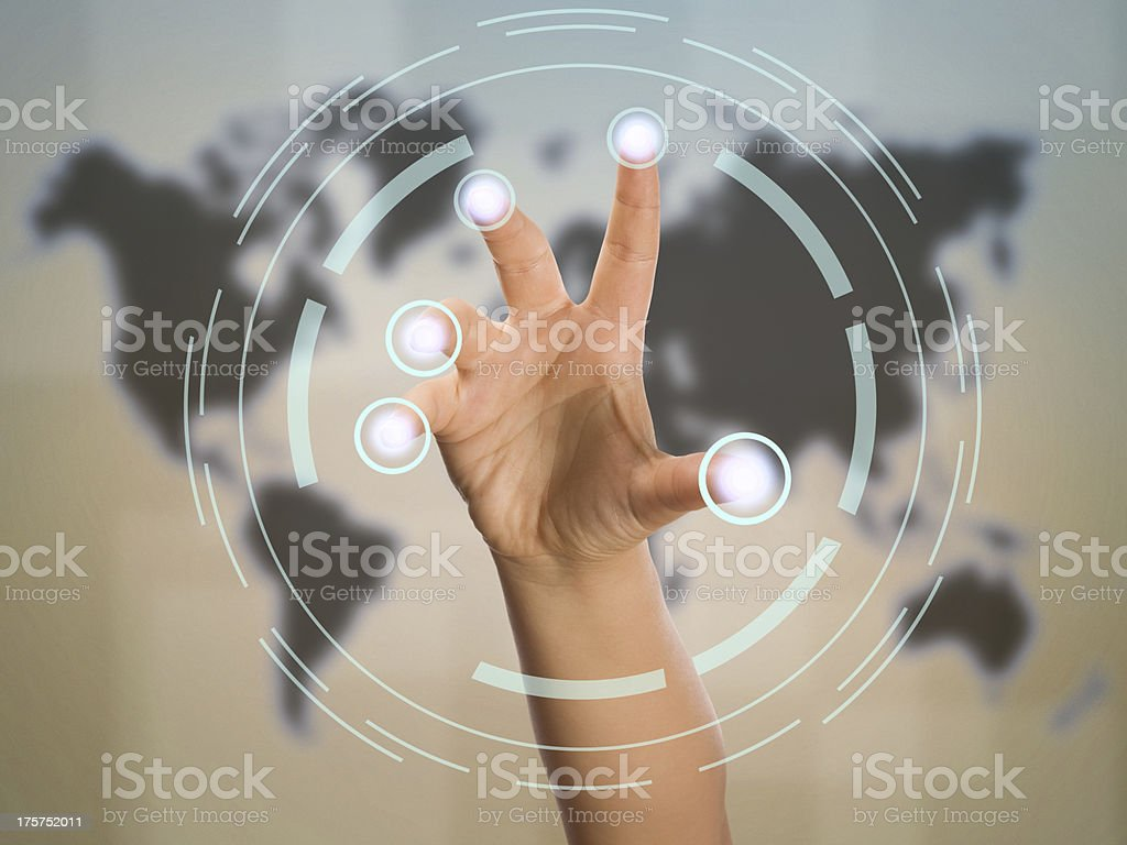 Digital concept royalty-free stock photo