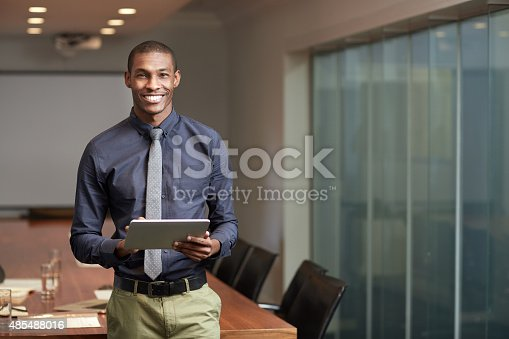 istock Digital connections in the corporate world 485488016