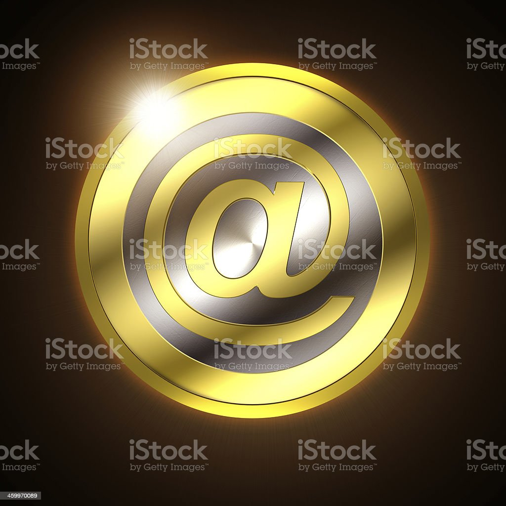 Digital currency royalty-free stock photo