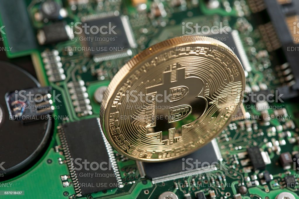 Moneda Digital - foto de stock