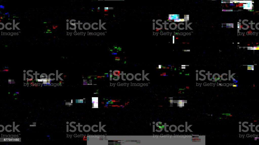 Digital Damage Noise stock photo