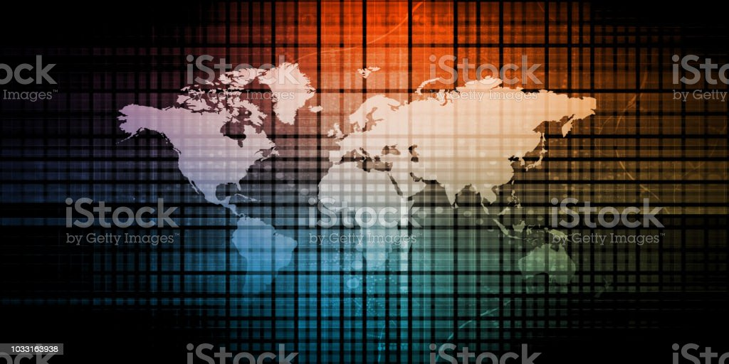 Digital Data Abstract stock photo