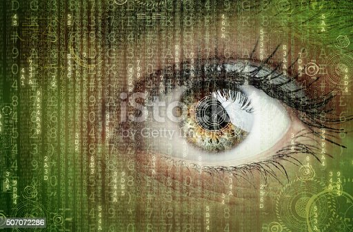 istock Digital data and eye 507072286