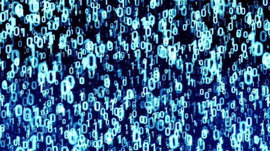 848353924 istock photo Digital data concept. Binary code. 1054574204