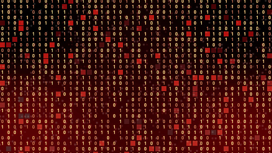 istock Digital data concept. Binary code. 1054934004