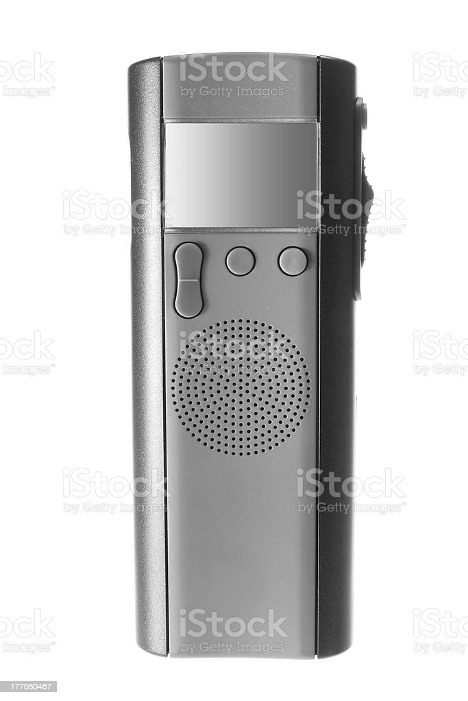 Digital Dictaphone stock photo