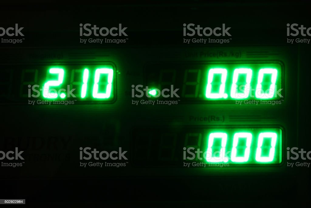 display Digital - foto de stock