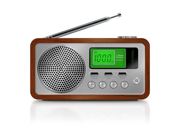 portatile radio digitale - radio foto e immagini stock