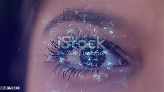 652426098 istock photo Digital Eye Background 921371314