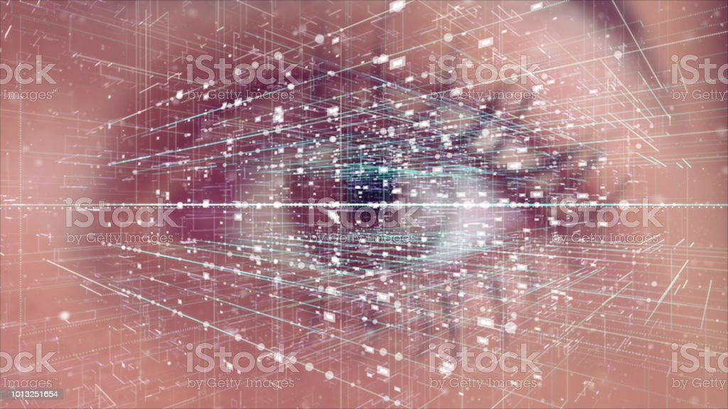 Digital Eye, Internet of Things stock photo