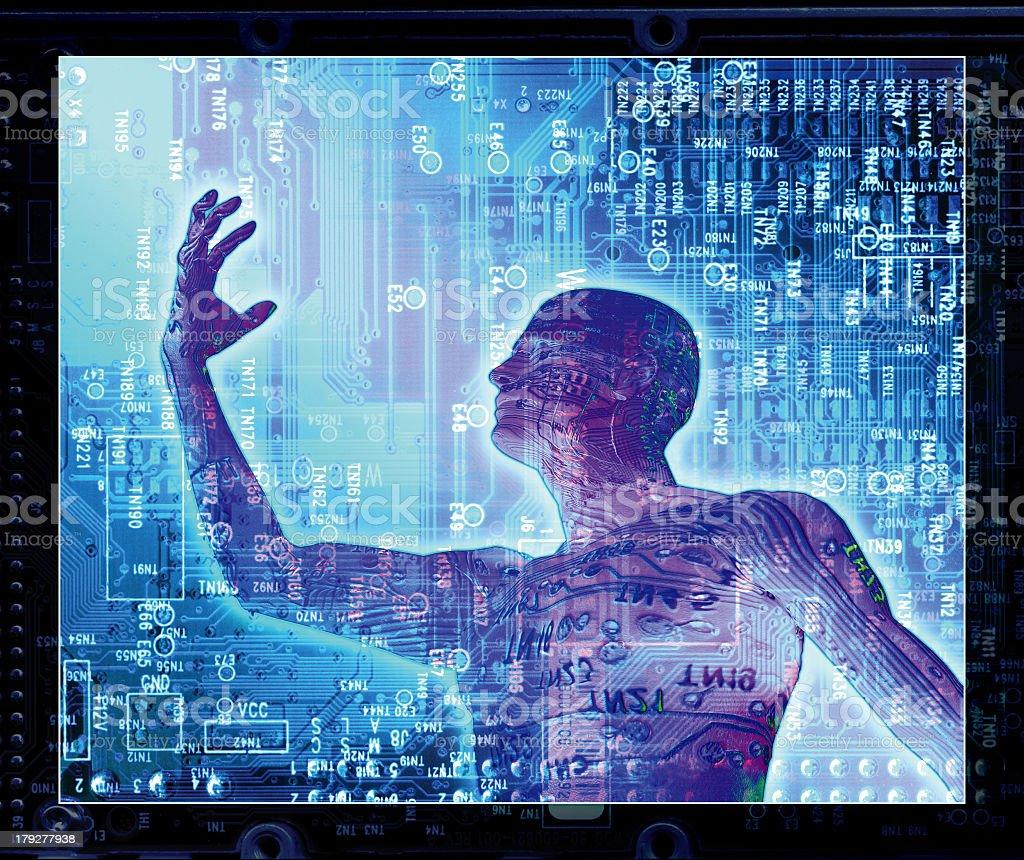 Fantasma Digital Foto de stock y más banco de imágenes de Aura - iStock