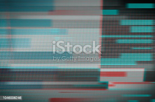istock Digital glitch art 1046006246