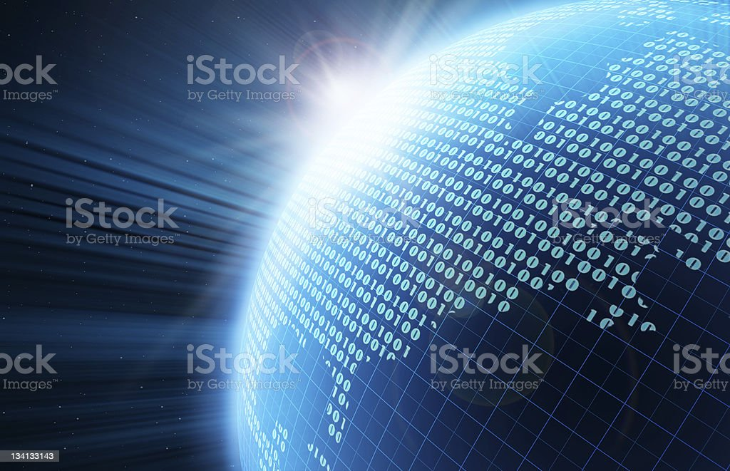 Digital Globe stock photo