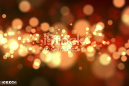 istock Digital golden sparkling dust texture 929640504
