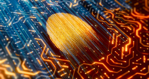 Digital identity scanner Digital identity scanner identity theft stock pictures, royalty-free photos & images