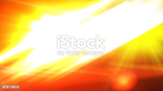 istock Digital lens Flare , Light transition, lens flare, light leaks  ,Abstract overlays background. 879176810