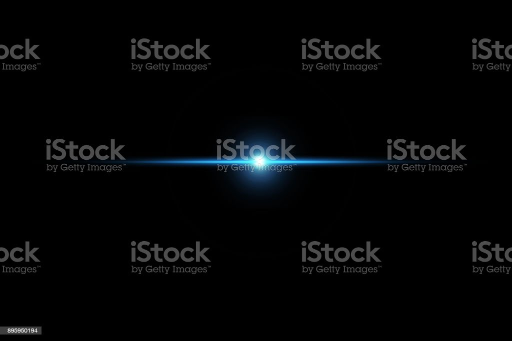 digital lens flare,sun burst on black background. stock photo