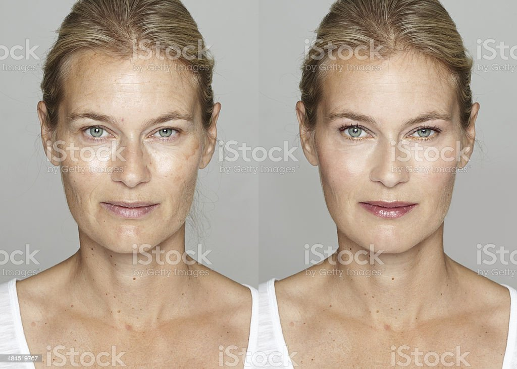 Digital Makeover stock photo