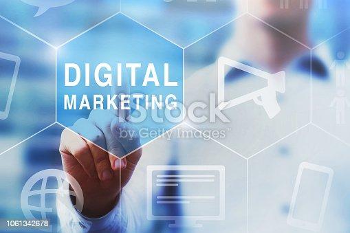 654055650 istock photo digital marketing concept 1061342678
