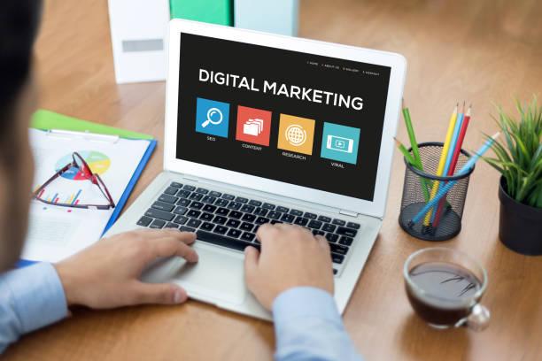 Digitale Marketing-Konzept – Foto