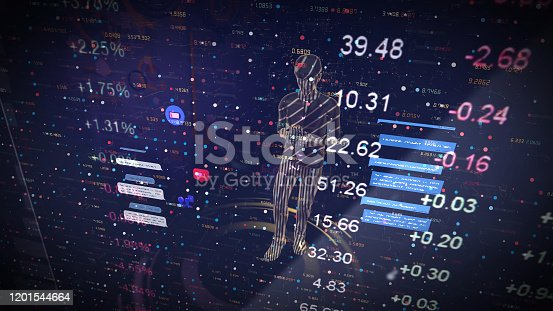 919567592 istock photo Digital marketing. Man holding smart phoneusing modern interface payments online shopping and icon customer network connection on virtual screen. Business innovation technology concept 1201544664
