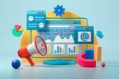 istock Digital marketing 1222811180