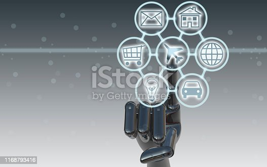 846708102 istock photo Digital marketing SEO search engine optimization via omnichannel communication network icon on computer software application development and online mobile smart device app technology 1168793416