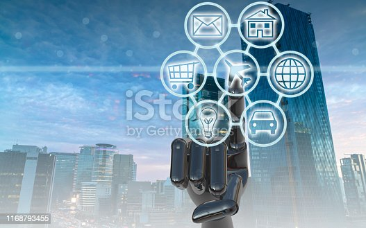 846708102 istock photo Digital marketing SEO search engine optimization via omnichannel communication network icon on computer software application development and online mobile smart device app technology 1168793455