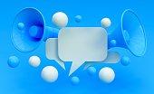 istock Digital Marketing Social Media Megaphone Concept 1145423744