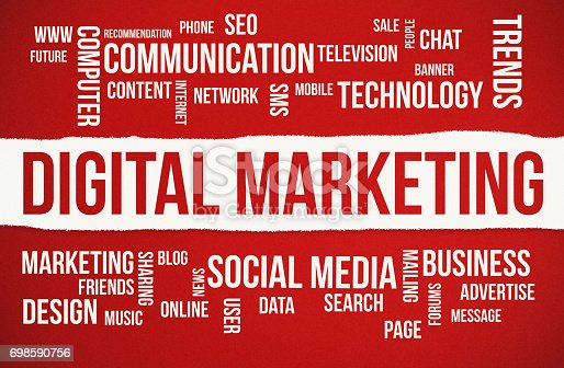 881845218istockphoto Digital Marketing word cloud 698590756