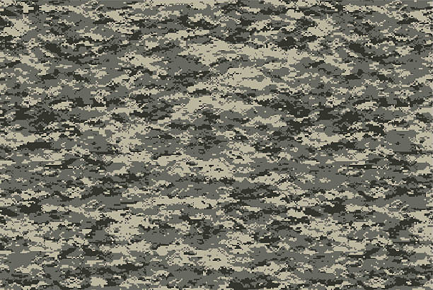 Digital military camo texture Digital military camo texture, for future military usage concept camouflage stock pictures, royalty-free photos & images