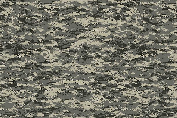 cyfrowy wojskowy camo tekstura płótna - kamuflaż zdjęcia i obrazy z banku zdjęć