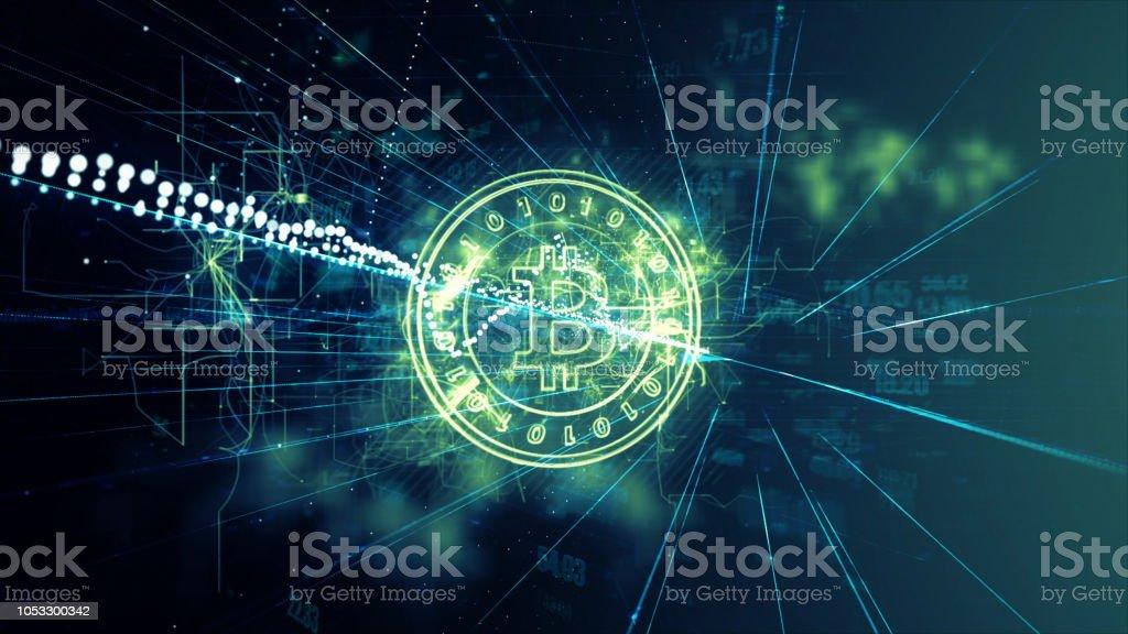 Dinheiro digital - foto de acervo