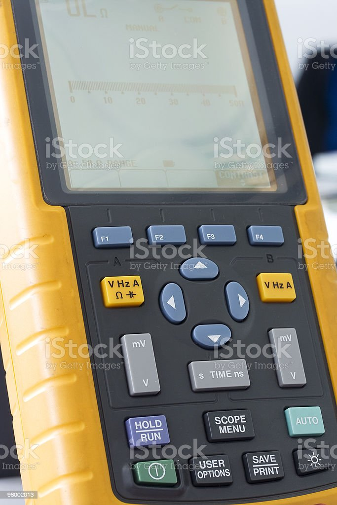 Digital multimeter royalty free stockfoto