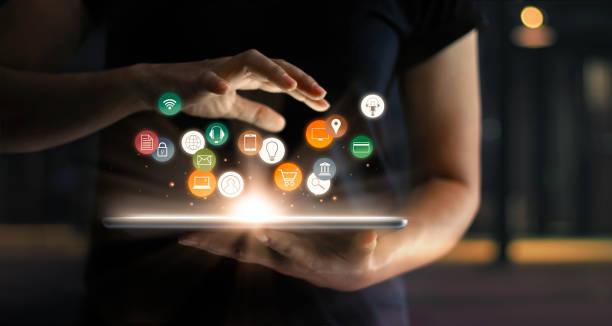 Digital online marketing commerce sale concept woman using tablet picture id1025744816?b=1&k=6&m=1025744816&s=612x612&w=0&h=zqxtekkv 3sfxkbc781zh91usreghsm6r2hn ormwci=